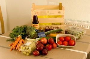 Fruits and vegetables from Aarstiderne.com