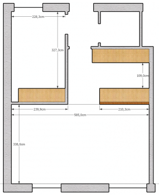 Floorplan of the flat I'll be moving to